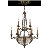 ELK Lighting Trump Home Westchester Millwood 15 Light Chandelier in Antique Bronze 2497/6+3+6