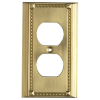 ELK Lighting Clickplate Lighting Accessory in Brass 2500BR