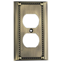 ELK 2500AB Clickplate Antique Brass Lighting Accessory