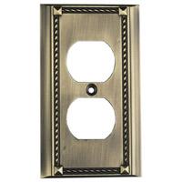 ELK 2500AB Clickplate Antique Brass Lighting Accessory