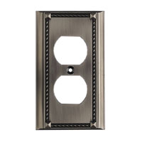 ELK 2500AP Clickplate Antique Platinum Lighting Accessory
