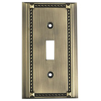 ELK 2501AB Clickplate Antique Brass Lighting Accessory
