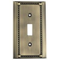 ELK 2501AB Clickplate Antique Brass Lighting Accessory