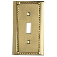 Brass Clickplate Lighting Accessories