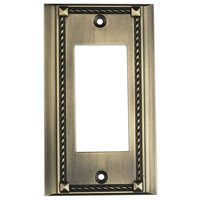 ELK 2502AB Clickplate Antique Brass Lighting Accessory