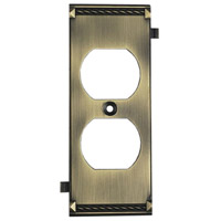 ELK 2503AB Clickplate Antique Brass Lighting Accessory