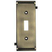 ELK 2504AB Clickplate Antique Brass Lighting Accessory