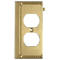 ELK Lighting Clickplate Lighting Accessory in Brass 2506BR