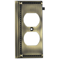 ELK 2506AB Clickplate Antique Brass Lighting Accessory