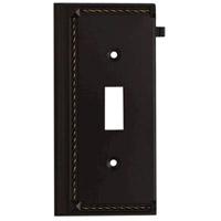 ELK Lighting Clickplate Lighting Accessory in Aged Bronze 2507AGB