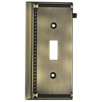 ELK 2507AB Clickplate Antique Brass Lighting Accessory