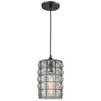 ELK 25123/1 Murieta 1 Light 7 inch Oil Rubbed Bronze Mini Pendant Ceiling Light in Standard