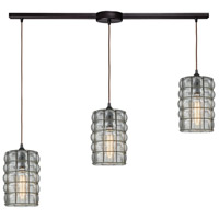 Murieta 3 Light 36 inch Oil Rubbed Bronze Pendant Ceiling Light