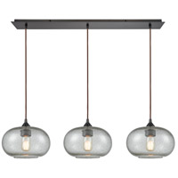 Volace 3 Light 36 inch Oil Rubbed Bronze Pendant Ceiling Light