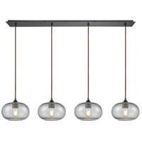 Volace 4 Light 46 inch Oil Rubbed Bronze Pendant Ceiling Light