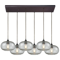 Volace 6 Light 30 inch Oil Rubbed Bronze Pendant Ceiling Light