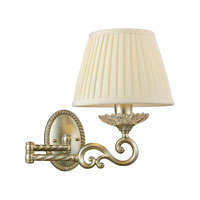 ELK Lighting Trump Home Mar-A-Lago Bianco 1 Light Wall Lamp in Silver Leaf 2574/1