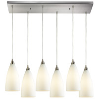 Vesta 6 Light 30 inch Satin Nickel Pendant Ceiling Light