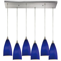 ELK Lighting Vesta 6 Light Pendant in Satin Nickel 2581/6RC