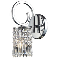 ELK Lighting Optix 1 Light Sconce in Polished Chrome 2595/1