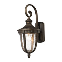 ELK Lighting Worthington 1 Light Outdoor Sconce in Hazelnut Bronze 27000/1