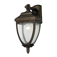 ELK Lighting Brantley Place 1 Light Outdoor Sconce in Hazelnut Bronze 27010/1