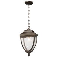 ELK 27012/1 Brantley Place 1 Light 11 inch Hazelnut Bronze Outdoor Pendant