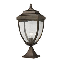 ELK Lighting Brantley Place 1 Light Outdoor Post Light in Hazelnut Bronze 27013/1