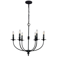 ELK Lighting Hartford 6 Light Chandelier in Oil Rubbed 286-OB