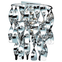 Odyssey 4 Light 14 inch Polished Chrome Sconce Wall Light