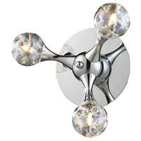 ELK Lighting Molecular 3 Light Sconce in Polished Chrome 30008/3