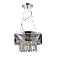 Rados 13 Light 19 inch Polished Chrome Pendant Ceiling Light