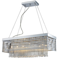 ELK Lighting Cortina 12 Light Chandelier in Polished Chrome 30020/12