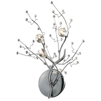 Viviana 3 Light 16 inch Polished Chrome Sconce Wall Light