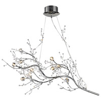 Viviana 10 Light 20 inch Polished Chrome Chandelier Ceiling Light