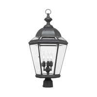 ELK Lighting Newington 3 Light Outdoor Post Light in Charcoal 3093-C