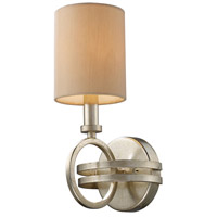 ELK Lighting Trump Home Central Park New York 1 Light Sconce in Renaissance Silver 31010/1