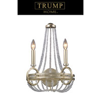 ELK Lighting Trump Home Central Park New York 2 Light Sconce in Renaissance Silver 31011/2