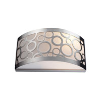 Retrovia 2 Light 12 inch Polished Nickel Sconce Wall Light