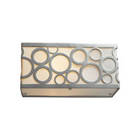 Retrovia 1 Light 10 inch Polished Nickel Vanity Wall Light