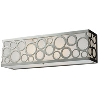 Retrovia 2 Light 17 inch Polished Nickel Vanity Wall Light