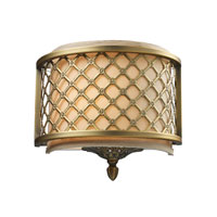 ELK 31030/1 Chester 1 Light 10 inch Brushed Antique Brass Sconce Wall Light