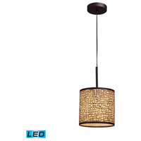 ELK Lighting Medina 1 Light Pendant in Aged Bronze 31045/1-LED