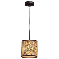 ELK Lighting Medina 1 Light Pendant in Aged Bronze 31045/1