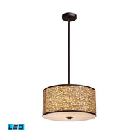 ELK Lighting Medina 3 Light Pendant in Aged Bronze 31046/3-LED