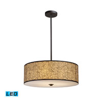 ELK Lighting Medina 5 Light Pendant in Aged Bronze 31047/5-LED