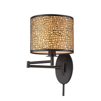 ELK Lighting Medina 1 Light Swingarm in Oil Rubbed Bronze 31048/1