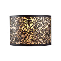 ELK Lighting Confetti 2 Light Sconce in Aged Bronze 31065/2 photo thumbnail