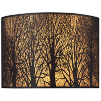 ELK Lighting Woodland Sunrise 2 Light Sconce in Aged Bronze 31070/2