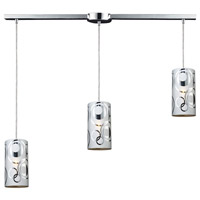 ELK Lighting Chromia 3 Light Pendant in Polished Chrome 31076/3L